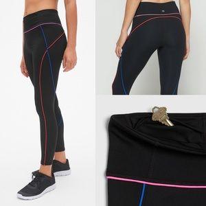 GAP // Full Length Leggings with Neon Piping